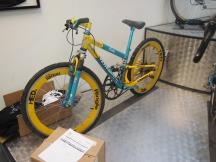 Yeti Down Hill Easton, with massive chainwheel